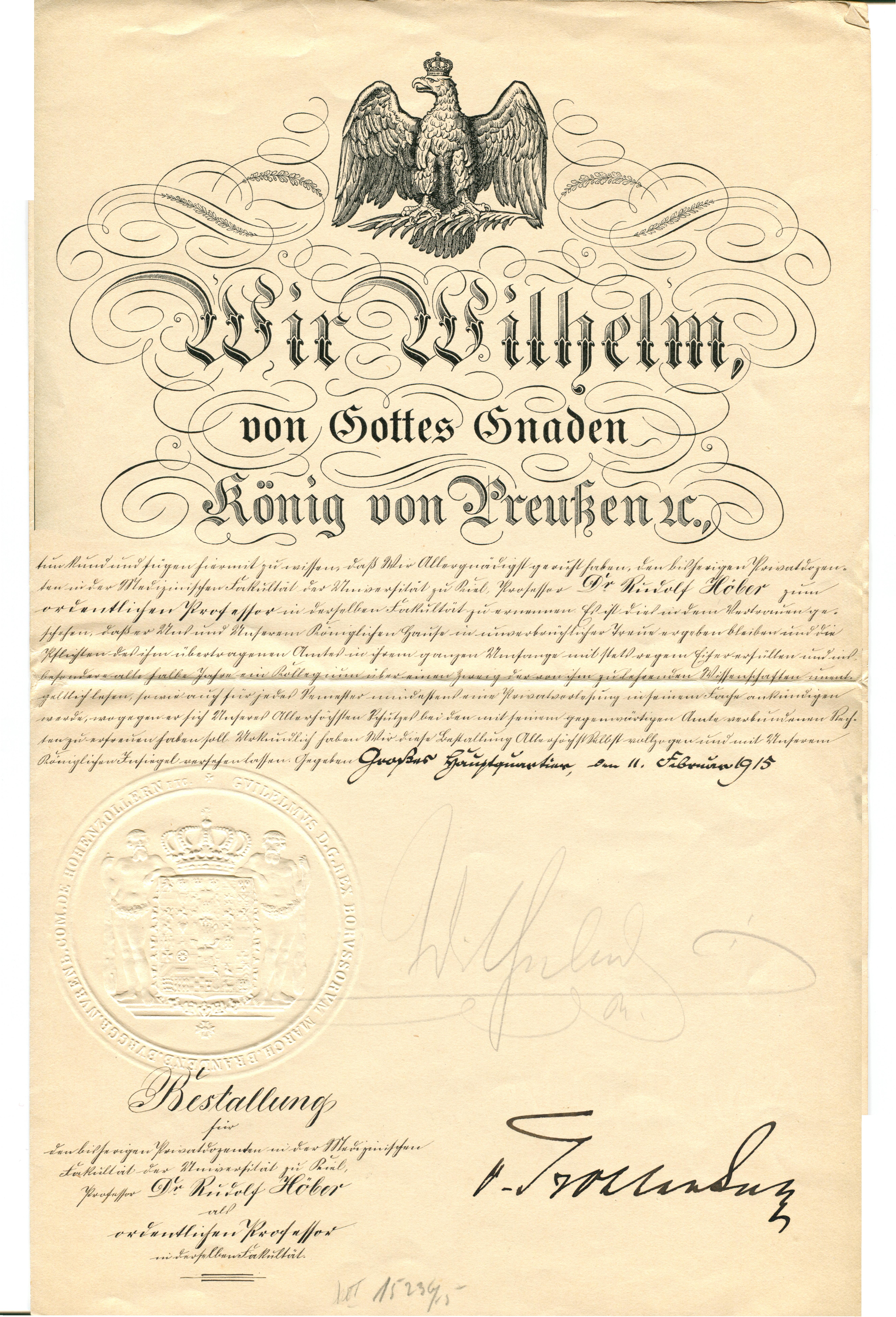 We wilhelm by gods grace king of prussia hoeber rudolf 1betcityfo Gallery