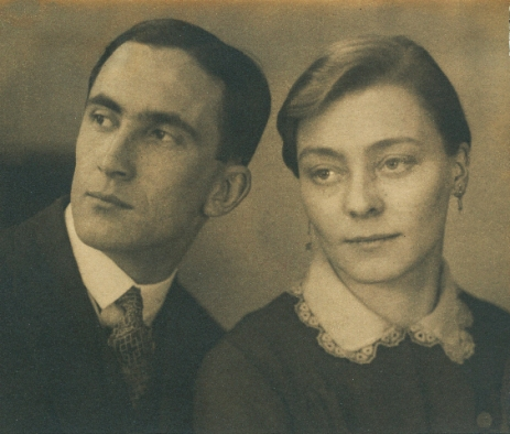 Johannes and Elfriede Höber at the time of their marriage, December 22, 1928