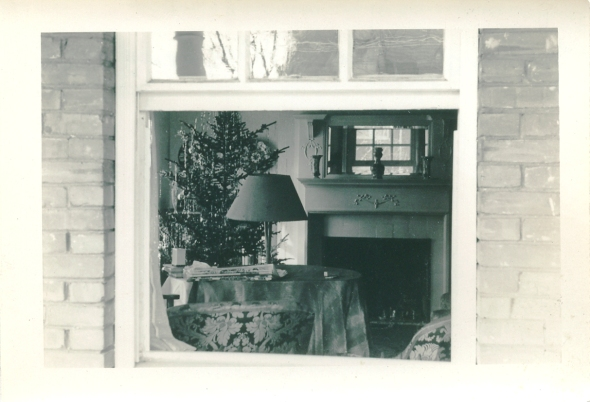 6701 Cresheim Road, Philadelphia, Christmas 1938