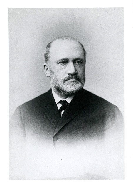 Anselm Höber shortly before his death in 1899.