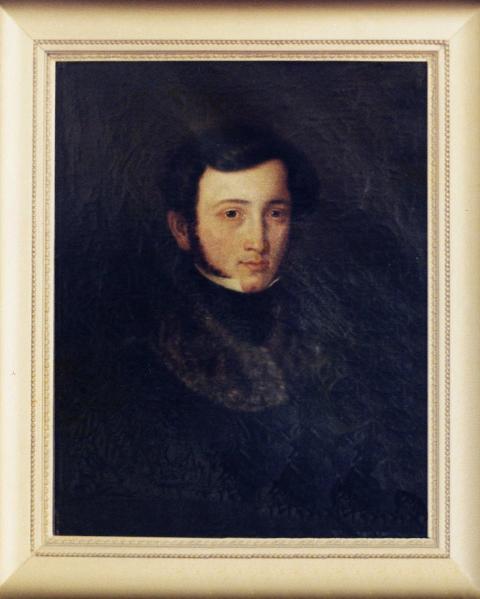 Anselm Höber, about 1855.