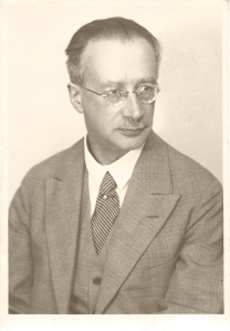 Rudolf Höber, Professor of Physiology, University of Kiel.  He was actually a more cheerful and charming person than this rather serious picture shows him to be.