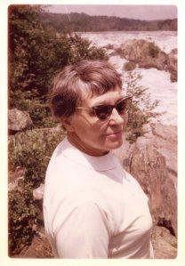 Elfriede F. Hoeber near Washington during the Johnson Administration