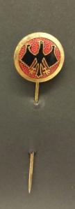 Membership Pin, Reichsbanner Schwarz-Rot-Gold, before 1933