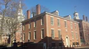 Philosophical Hall, headquarters of the American Philosophical Society, Independence Square, Philadelphia