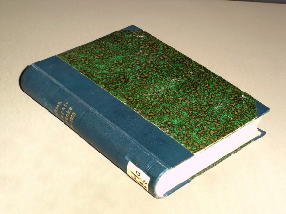 Privately bound book containing 25 scientific articles by Rudolf Höber on various topics related to cellular physiology, 1904-1913.
