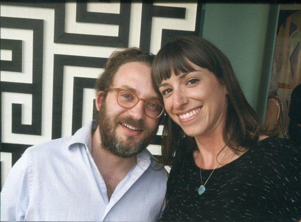 Julian Hoeber and Heather Rasmussen, Los Angeles, December 2014.