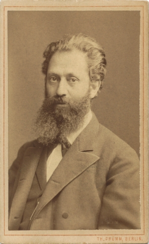 Prof. Isidor Rosenthal 1837-1915.  He was married to my great-great gandmother's sister and taught physiology at the University of Erlangen.