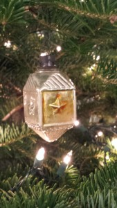 The last remaining Christmas decoration that they brought to America when the Nazis expelled them from Germany in 1934.