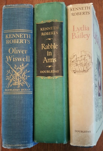 Oliver Wiswell (19 ), Rabble in Arms (19 ), Lydia Bailey (19 ) by Kenneth Roberts. My parents learned a lot of American history from these novels.