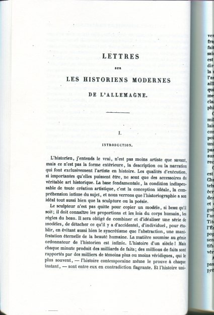 Heinrich Bernhard Oppenheim,, Letters on Modern Historians of GErmany, 1858