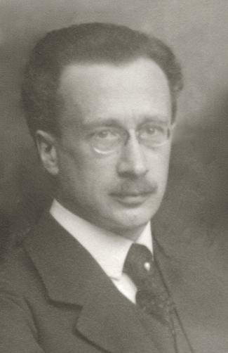Prof. Rudolf Höber, Kiel, February 1918.